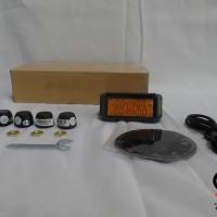 TPMS Solar Digital Sensor Tekanan Angin Ban Mobil Universal