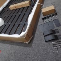 Aksesoris Roof Rack Jeep JK Wrangler Aluminium Instalasi Tanpa di Bor