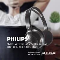 Philips Wireless Infrared Headphone SHC1300 / SHC 1300 - Hitam