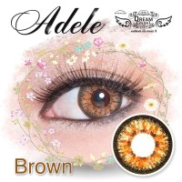 Promo  Softlens Dreamcon / Dream Color Adele Brown (Coklat)