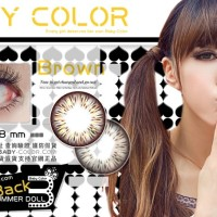 Softlens Baby Color Summer Doll Light Brown (Coklat Terang)