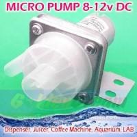 Micro Pump DC Water Pompa Air Kecil Dispenser Juicer Kopi Aq