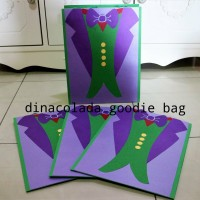 Goodie Bag / Goody Bag / Tas Kertas Jocker (Harga per lusin = 12 pcs)
