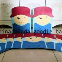 Goodie Bag / Goody Bag / Tas Kertas Paddington Bear (Harga per Lusin)