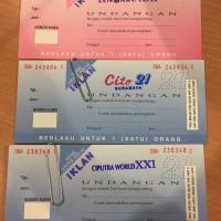 Voucher Tiket Bioskop XXI 21 Surabaya Ciputra World Cito Lenmarc
