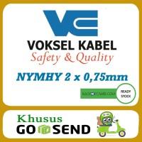 Kabel Voksel NYMHY 2x0,75 mm 50meter 2x0.75 Khusus GoJek