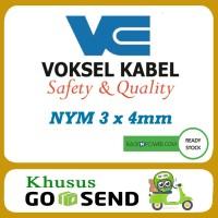 Kabel NYM Voksel 3x4mm 100meter Original 100% GoJek Only