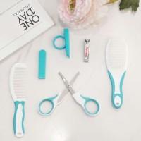 LITTLE BABY Manicure Grooming Set Gunting Kuku Nail Clipper Sisir Bayi