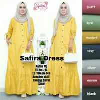 Baju Terusan Wanita Muslim Longdress Safira Dress