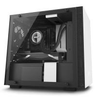 NZXT H200i Matte White (Premium Mini ITX Case)