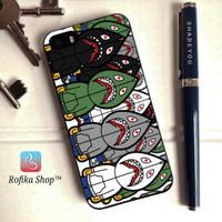 Custom case bape supreme shark samsung j1 j2 j3 j5 j7 s6 s7 s8 edge