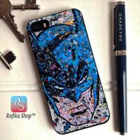 Custom case batman face iphone 4 4s 5 5s 6 6s 7 8 x samsung j1 j2 j3