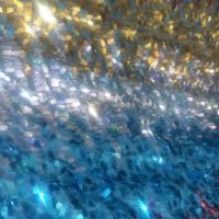 KAIN/BAHAN TILLE SEQUIN RAINBOW
