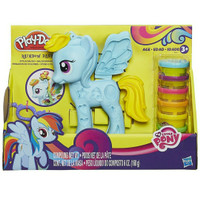 Play doh my little pony rainbow dash style salon