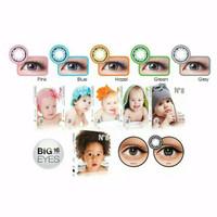 Terlaris softlens Mata Minus  N8 baby big eyes diameter 16mm