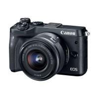 Canon EOS M6 Kit 15-45mm IS STM Kamera Mirrorless - Black