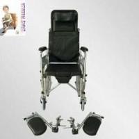 kursi roda commode rebahan Unik