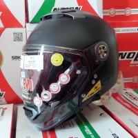 Helm Nolan N44 Evo Classic Flat Black Multy Model Not Schuberth Harley