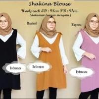 baju atasan blouse cewek wanita remaja lengan panjang - Diskon
