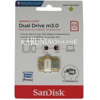 Dijual Flashdisk Sandisk Usb Otg M3.0 White 64Gb/Up To 150 Mb/S