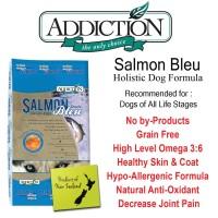 ADDICTION GRAIN FREE SALMON BLEU 9KG DOG FOOD MAKANAN ANJING DRY FOOD