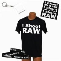 Kaos /T-Shirt I Shoot Raw Limited