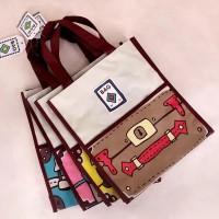 Tas Kanvas Tas Hadiah Tas Sekolah Tas Souvenir Hand Bag Tas Unik Murah