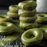 Glaze Matcha ala J-co