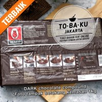Cokelat Tulip Dark Chocolate Compound Coklat Batang Murah Enak 1 kg