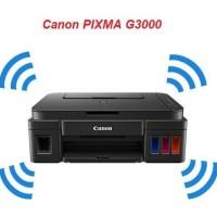 Canon Printer All In One G3000 Print Scan Copy Wifi Bergaaransi Resmi