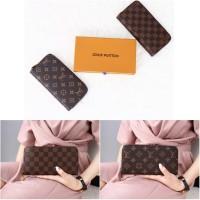 Dompet wanita Louis Vuitton Clemence Zippy Wallet 1094