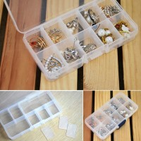 10 Compartment Jewelry Storage Box (10 cells)