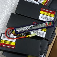 Turnigy Nano-Tech 1400mah 3S 15~25C Lipo AIRSOFT Battery Batre