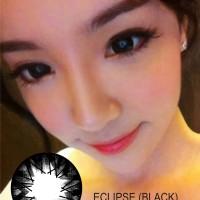 Promo  Softlens Eclipse Black IC01-15-BK (Hitam Pekat)