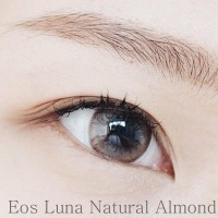 Promo  Softlens EOS Luna Natural Almond Brown (Coklat Natural)