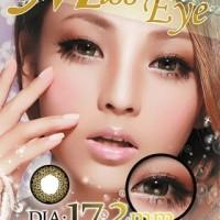 Acessoris warna mata  Softlens Miss Eye Princess Sakura Brown / Coklat