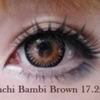 Promo Acessoris warna mata  Softlens EOS A3 Bambi Brown Coklat