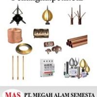 Paket Penangkal Petir Bakiral Kabel 50 mm / penangkal petir murah