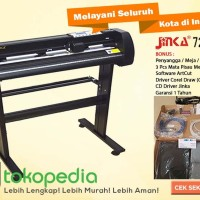 MESIN CUTTING STICKER JINKA 721 ORIGINAL Printer Pemotong Stiker