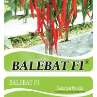Benih/Bibit Cabe Merah Besar Balebat F1 (Bintang Asia)