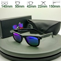 Best seller Kacamata Rayban Wayfarer 2140 lensa biru UV Protection