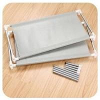 Rak Pakaian / Lemari Pakaian Aluminium + Cover Anti Debu
