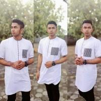 TERLARIS Kemeja Koko Pakistan Alif Premium - Baju koko Modern murah