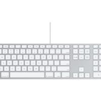 MB110-Apple Keyboard With Numeric Keypad Cable-Putih