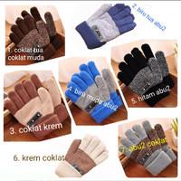 Sarung tangan anak musim dingin tebal