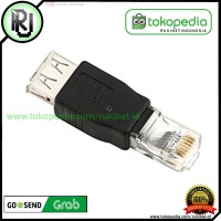 ADAPTER USB Female to RJ45 Ethernet Male