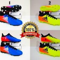 SEPATU BOLA Adidas X 18 Techfit Boots FG Grade Ori (2 Warna)