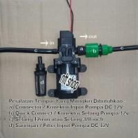 Connector / Konektor Input Pompa DC 12V