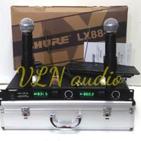 mic wireless SHURE LX88-III