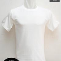 Kaos Polos Putih Bahan Combed 20s Size XXXL